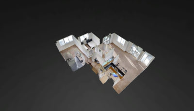 253 NE 2nd Street #3502, Miami, FL – Vizcayne 3D Model