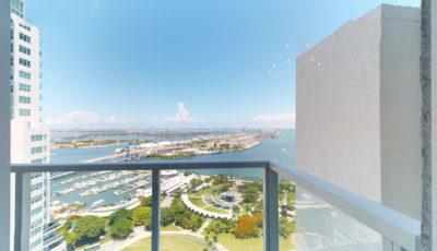 253 NE 2nd Street #4007, Miami, FL – Vizcayne 3D Model
