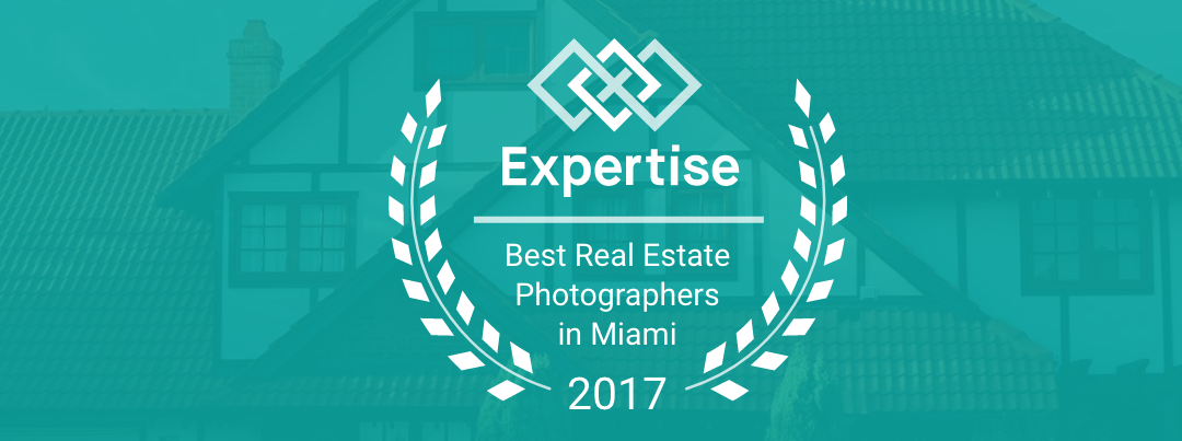 We won the award for top Real Estate Photographers in Miami