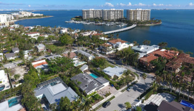 Coconut Grove Aerial 360º VR 3D Model