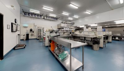 USDA Certified Commercial Kitchen / Food Production Facility in Doral 3D Model