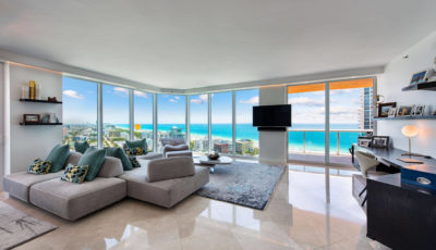 300 S. Pointe Dr. Unit 2405 Miami Beach FL – Portofinio 3D Model