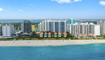 Miami Beach Luxury Waterfront 3 bedroom condo 3D Model